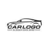 Automotive car logo template