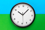Wall Clock on color background - 227419300