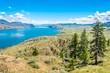 View at the Kamloops lake in British Columbia - Canada