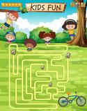 Children fun game template - 227449752