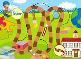 School element game template - 227450122