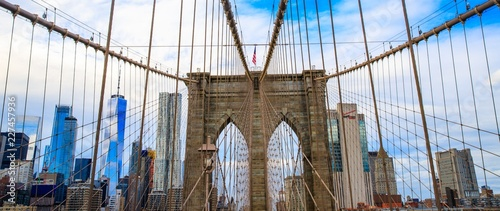 Pont de Brooklyn, New York, USA - 227457936
