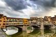 Quadro ponte vecchio in florence italy