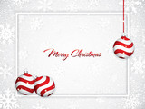 White Christmas background