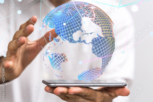Sticker global network