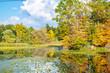 Autumn Trees on Water 2