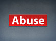 Abuse Red Banner Abstract Background