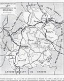 département du lot, carte ancienne