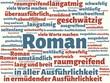 Das Wort - Roman - abgebildet in einer Wortwolke mit zusammenhängenden Wörtern - 227605565