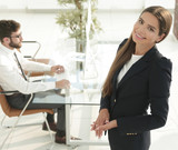 female Manager in the workplace - 227636369