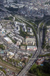 横浜の狩場インターチェンジ付近を空撮 - 227639537