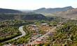 The Animas River winds through the town of Durango in southwestern Colorado