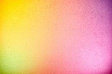 The combination of bright colors on one background