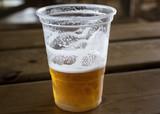 Plastic beer glass - 227702939