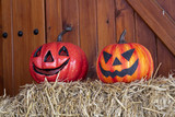 Pumpkins halloween decoration - 227703154