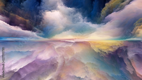 Elements of Abstract Landscape - 227705750