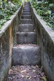 Escada subida morro