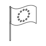 Isolated european union design - 227723193