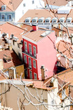roofs of old town, in Lisbon Capital City of Portugal