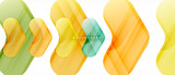 Colorful glossy arrows abstract background - 227741796