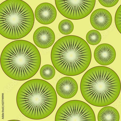 Kiwi fruit. - 227744944