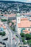 Saint Martin's cathedral in Bratislava, blue filter