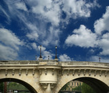 Paris, France. Bridge over the River Seine
