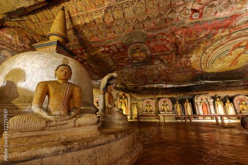 Die Höhlentempel von Dambulla in Sri Lanka  © hecke71
