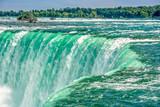 Niagara Falls in vibrant colors, Ontario,Canada