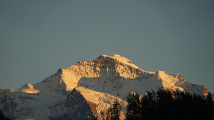 Jungfrau bei Sonnenuntergang, 29092016 © Michael