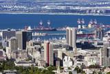 Kapstadt Hafen von oben - 227785533