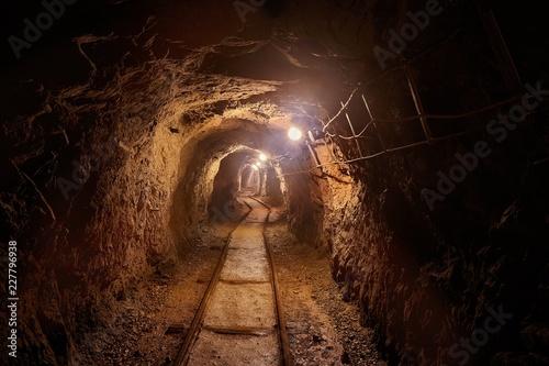 Old Mine Tunnel