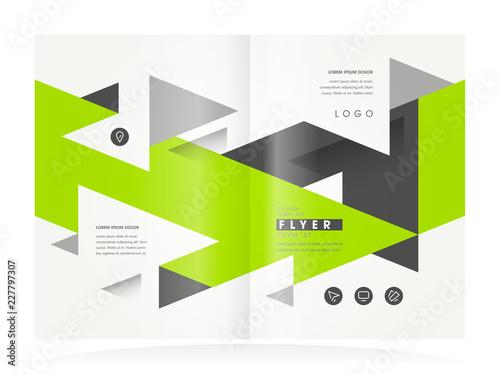 brochure design business booklet template creative leaflet