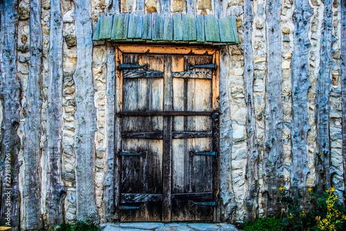 Foto Murales Cabin Door - Horizontal