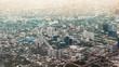 Bangkok Thailand, skyline aerial view from plane - 227824970