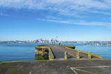 Bayswater Wharf Auckland New Zealand; Popular Fishing Spot