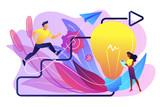 Creative inspiration concept vector illustration. - 227865920