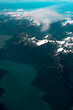 Canadian Mountains from the Air