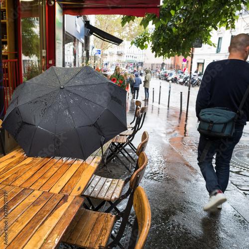 parapluie en ville