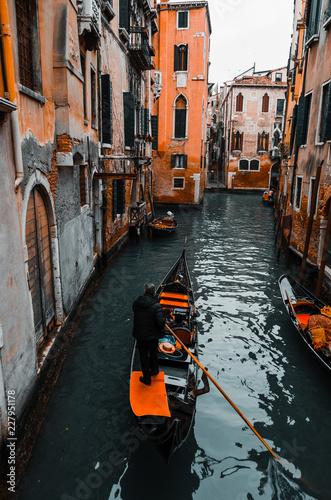 canale e gondole