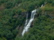 waterfall in forest - 227951994