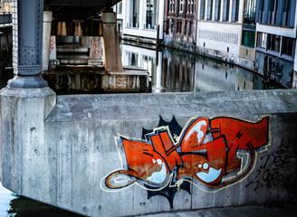 River in Hamburg