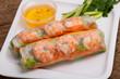 Vietnamese Spring roll with prawn