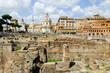 Quadro view of rome