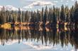 Reflected Lake Landscape