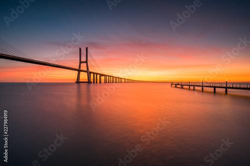 Fototapeta A ponte vasco da gama