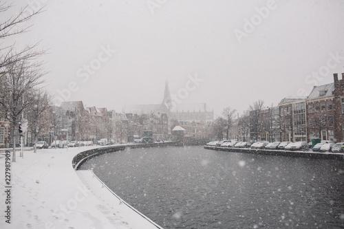 Foto Murales Winter in Netherlands