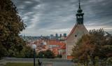 Panoramic view over Bratislava