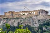 Temple Erechtheion Parthenon Acropolis Athens Greece - 228002598