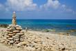 Quadro stones on the beach